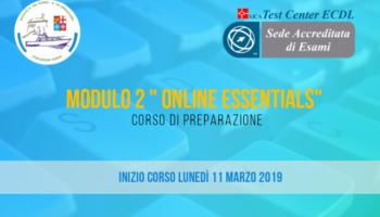 ECDL – Corso di preparazione al Modulo 2
