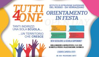 """""""Tutti 4 one"""" – Orientamento in festa."""